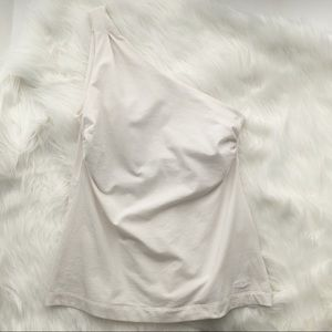 Patagonia Ivory One Shoulder Active Top